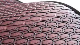 Neu! Premium Gummimatten mit eingefügtem Textil im coolen Look