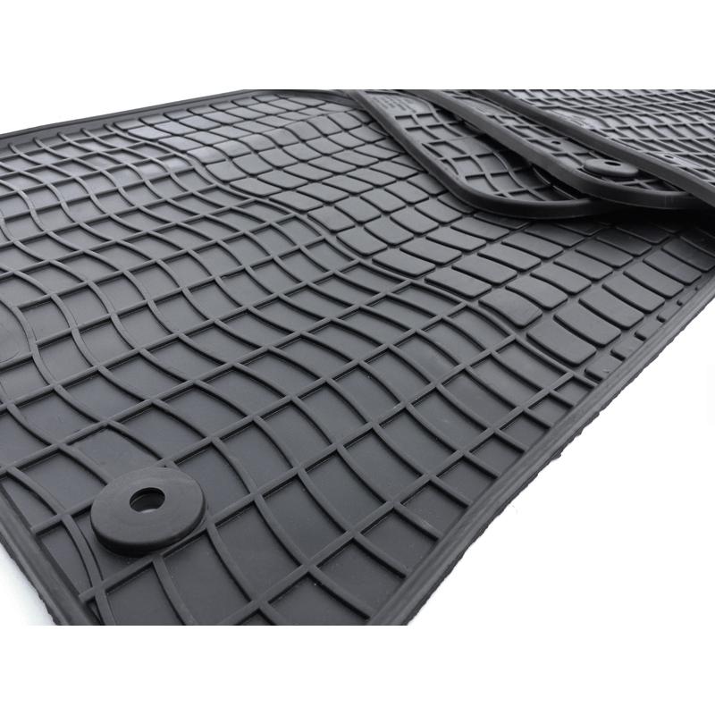 audi 80b061501041 80a061511041 gummi fu matten 4 tlg komplettsatz v h gummimatten. Black Bedroom Furniture Sets. Home Design Ideas