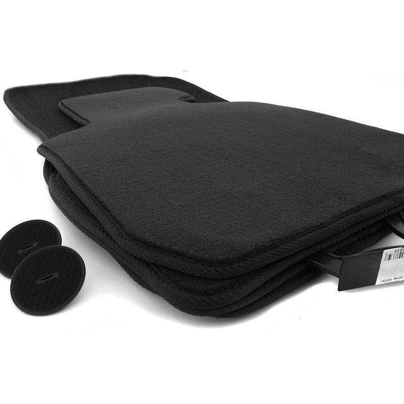 fu matten bmw 3er e90 e91 original velours qualit t in schwarz. Black Bedroom Furniture Sets. Home Design Ideas