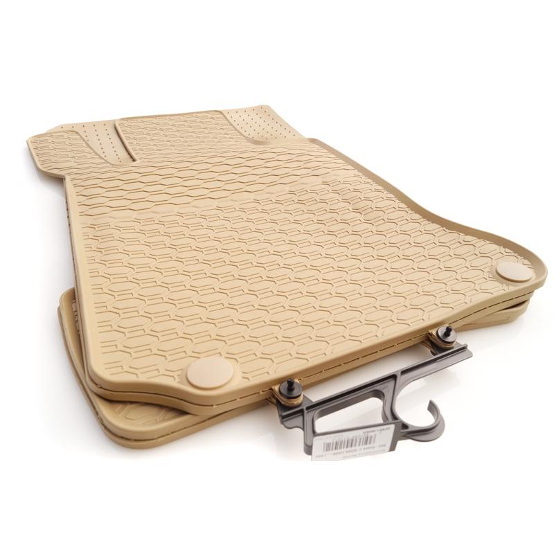 mercedes gummi fu matten w204 s204 online kaufen beige. Black Bedroom Furniture Sets. Home Design Ideas