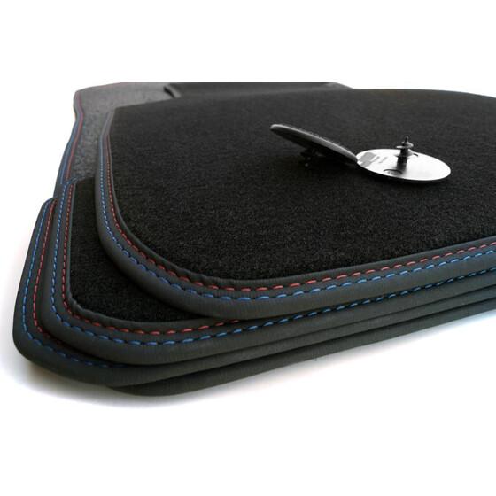 premium fu matten 3er bmw coupe e92 velours doppelnaht. Black Bedroom Furniture Sets. Home Design Ideas