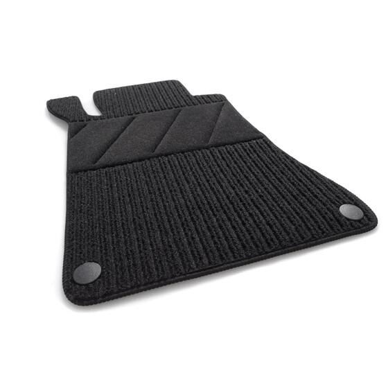 Mercedes Fußmatten E-Klasse W210 S210 Original Qualität RIPS 4x Teppich schwarz