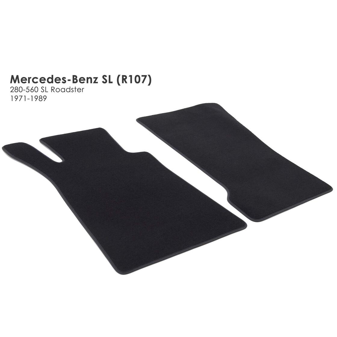 NEU $$$ $$$ Rips Fußmatten passend für Mercedes Benz R107 SL BLAU RUTSCHFEST