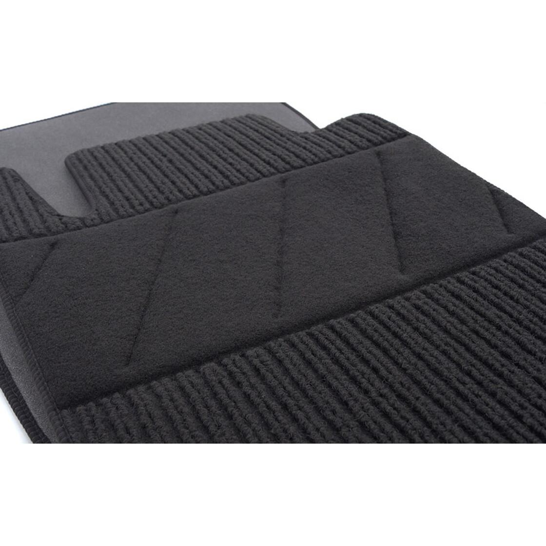 Fußmatten braun für Mercedes E-Klasse Cabrio//Coupe C207 ab 06.12 ECHTLEDERRAND b