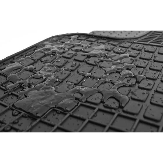 Allwetter Fußmatten für Skoda Fabia 3 III ab Bj 2014