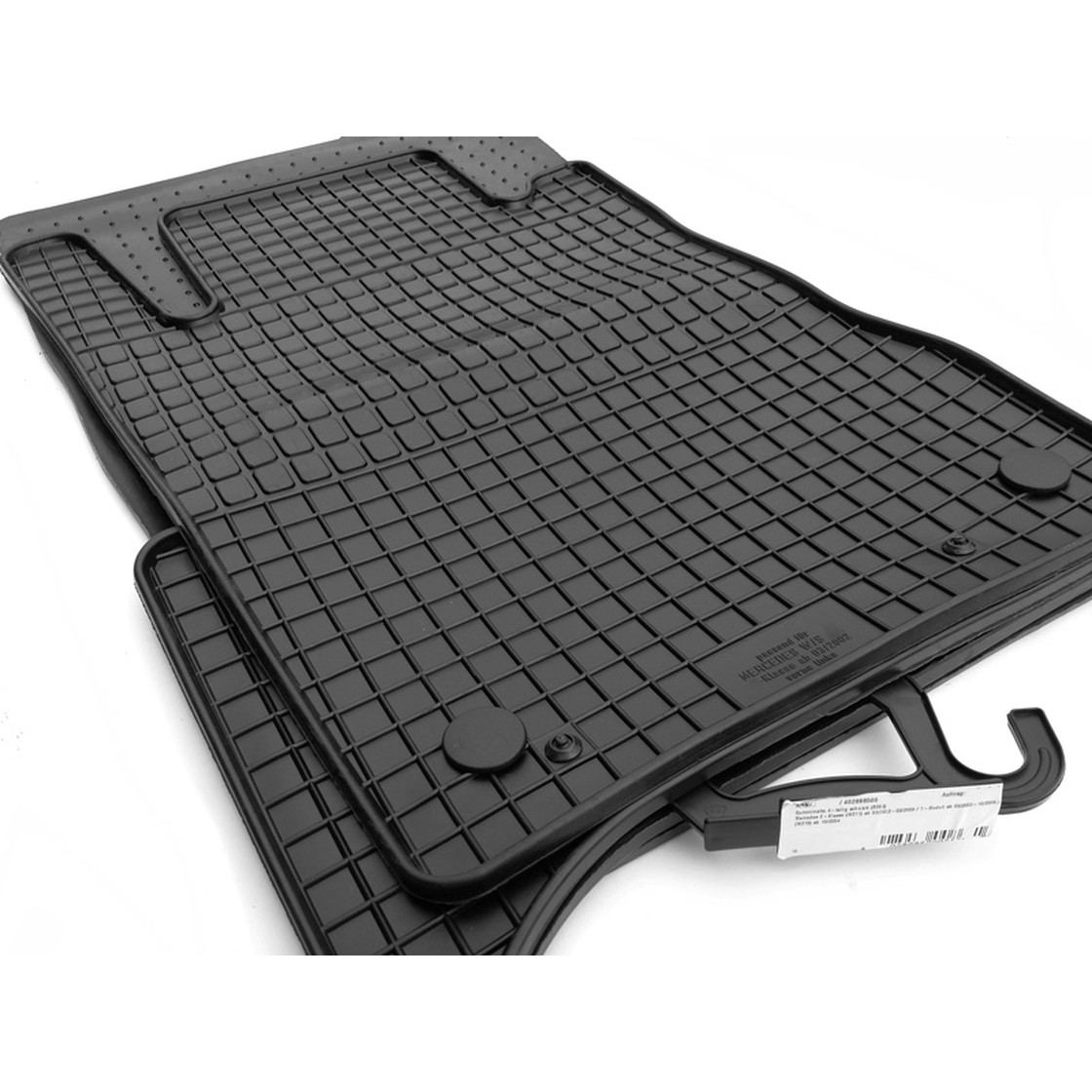X117 Velours Auto-Fußmatten Autoteppiche BJ CLA-Klasse C117 ab2013  **SPORT**