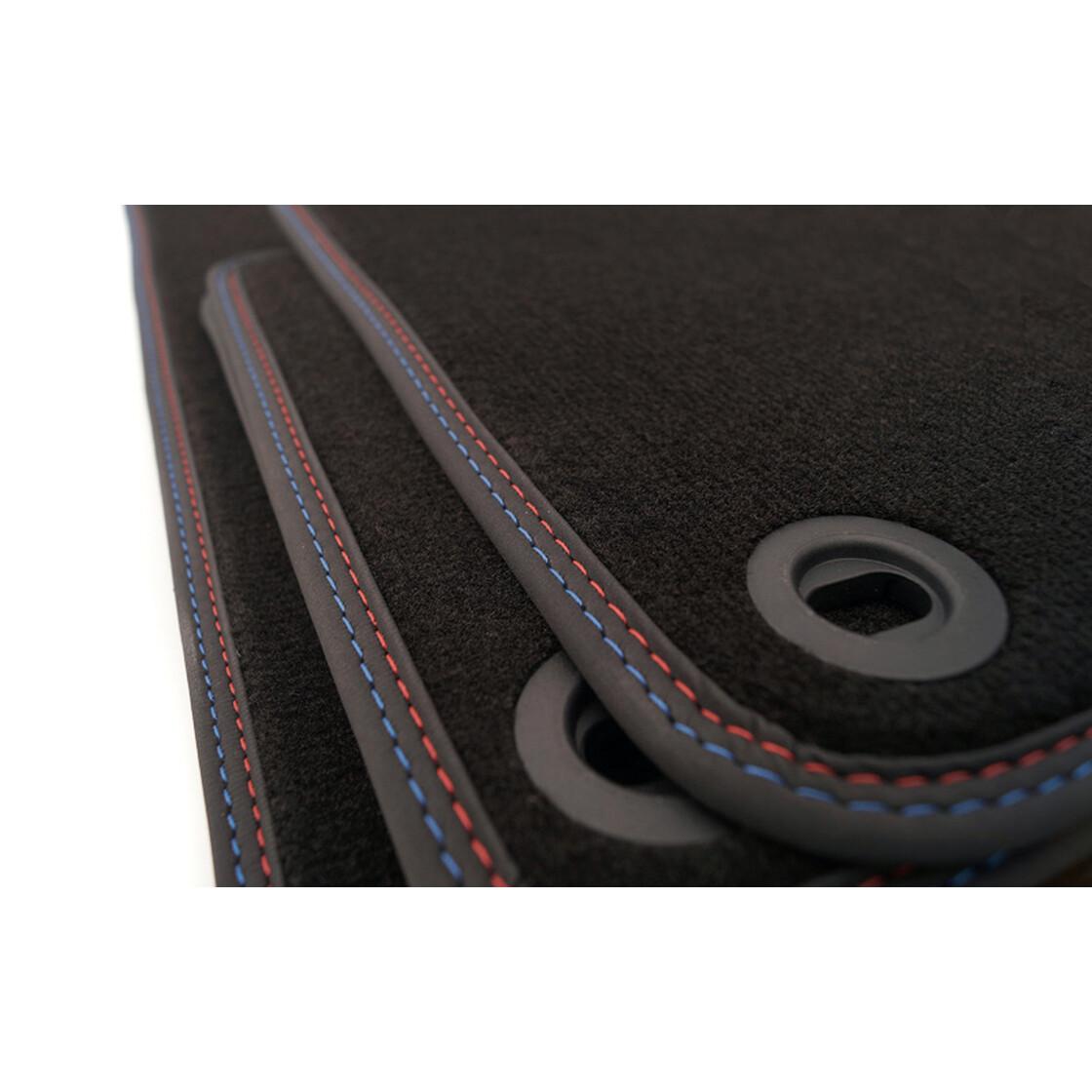 bmw 3er cabrio e36 fu matten im m3 design kaufen. Black Bedroom Furniture Sets. Home Design Ideas