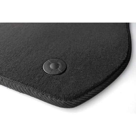 mercedes fu matten befestigung halter 4 teilig grau. Black Bedroom Furniture Sets. Home Design Ideas