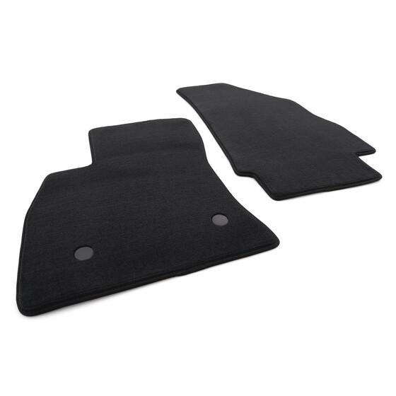 RAND ROT Matten Autoteppiche Velours Fußmatten Set für OPEL COMBO D 2012