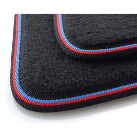 Fußmatten BMW X3 F25 Original Qualität Velours Auto Teppich 4teilig schwarz NEU