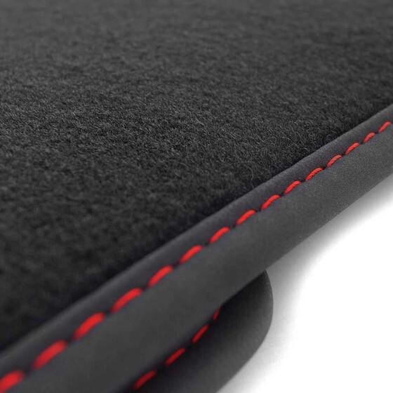 opel grandland x fu matten premium rote ziernaht. Black Bedroom Furniture Sets. Home Design Ideas