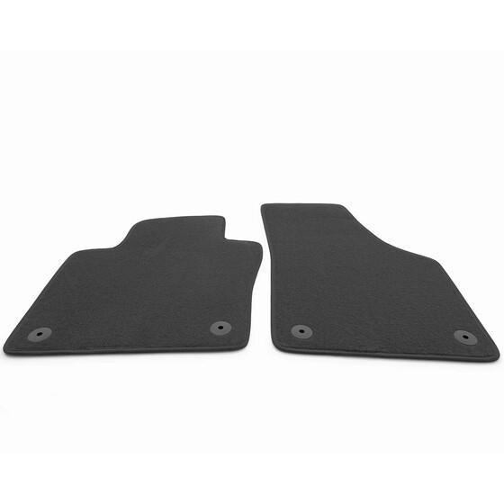 Passform-Velours-Fußmatten für VW Beetle Autoteppiche mit Befestigungen  NEU