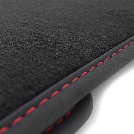 seat alhambra 2 7n fu matten highline velour ziernaht rot. Black Bedroom Furniture Sets. Home Design Ideas