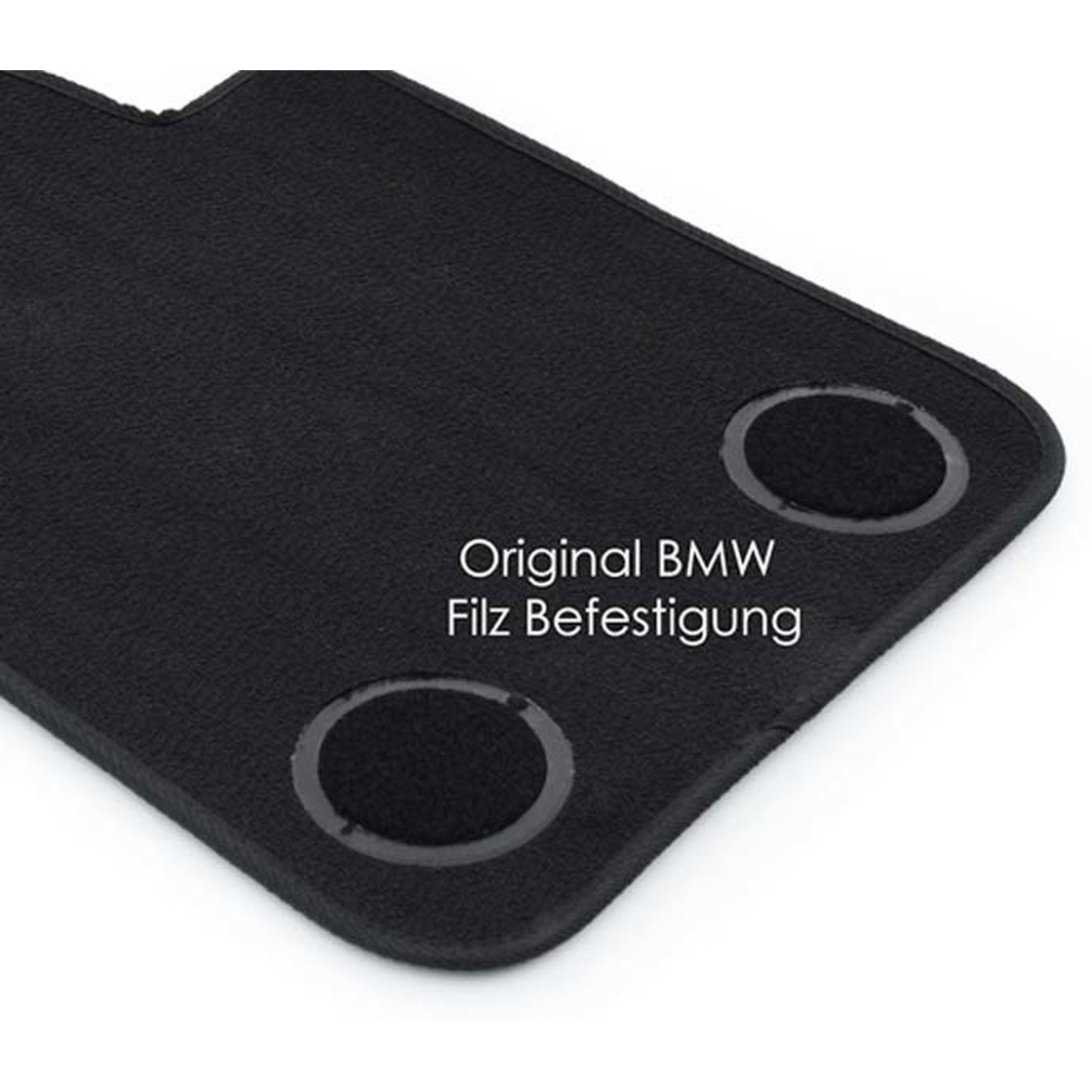 4x Klett 4x Fußmatten BMW 3er E90 E91 Orginal Qualitat Velours Autoteppiche