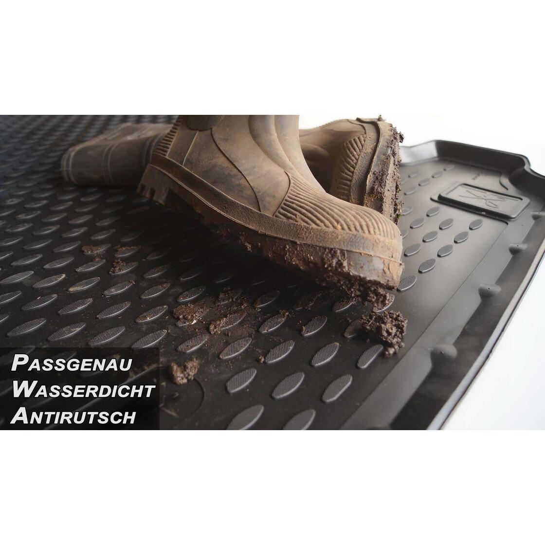 Gummimatten /& Kofferraumwanne für Audi A4 Allwetter Hoher Rand Antirutsch Set