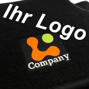 Beschickungsmotiv Fußmatten mit Logo oder Firmen Werbung (kh-teile.de)
