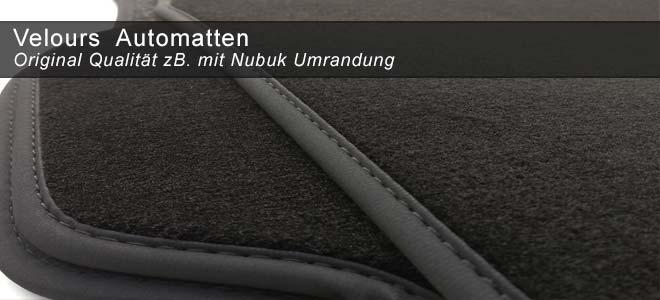 Velours Auto Fußmatten | kh-teile.de